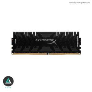 رم کامپیوتر کینگستون مدل HyperX Predator DDR4 3000MHz CL15 ظرفیت 16GB