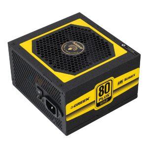 منبع تغذیه کامپیوتر گرین GP550A-UK 80Plus Gold PSU
