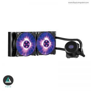 فن خنک کننده پردازنده کولرمستر MasterLiquid ML240L RGB Liquid