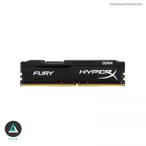 رم کامپیوتر کینگستون مدل HyperX Fury Black DDR4 ظرفیت 16G