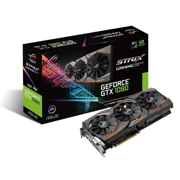 کارت گرافیک ایسوس ROG STRIX-GTX1080-A8G-GAMING 8GB GDDR5X