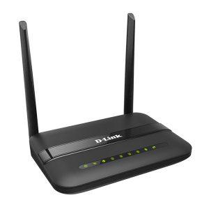 مودم دی لینک روتر N300 بی سیم ADSL2+ مدل DSL-124