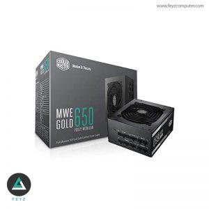 منبع تغذیه کولرمستر MWE Gold 650W فول ماژولار