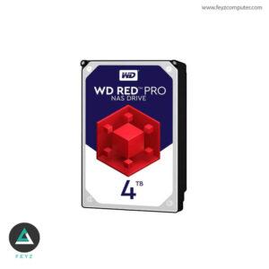هارددیسک اینترنال وسترن دیجیتال مدل Red WD4002FFWX ظرفیت4ترابایت