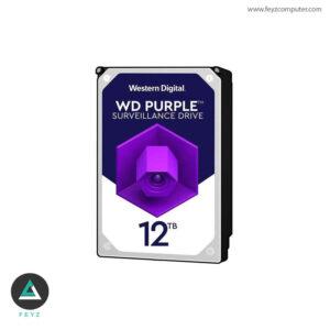 هارددیسک اینترنال وسترن دیجیتال مدل Purple WD121PURZ ظرفیت 12 ترابایت