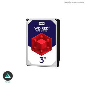هارددیسک اینترنال وسترن دیجیتال مدل Red WD30EFRX ظرفیت 3 ترابایت
