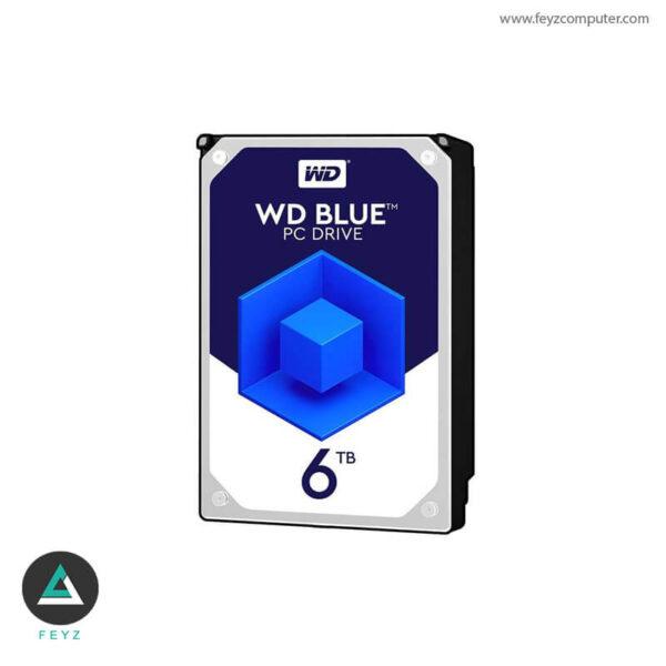هارددیسک اینترنال وسترن دیجیتال مدل Blue WD60EZRZ ظرفیت 6 ترابایت