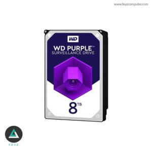 هارددیسک اینترنال وسترن دیجیتال مدل Purple WD801PURZ ظرفیت 8 ترابایت
