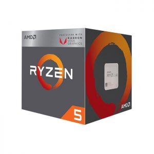 پردازنده ای ام دی مدل RYZEN 2400G