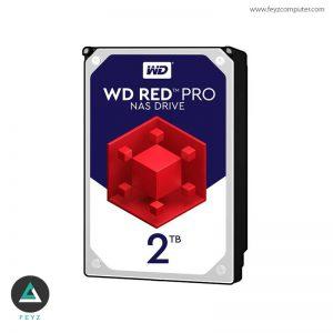 هارددیسک اینترنال وسترن دیجیتال مدل Red WD2002FFSX ظرفیت 2 ترابایت