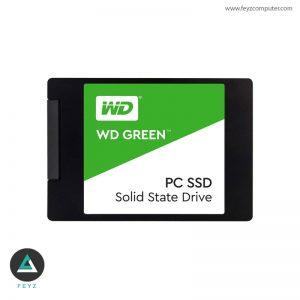 حافظه اس اس دی وسترن دیجیتال مدل WDS240G2G0A ظرفیت ۲۴۰ گیگابایت