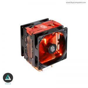 فن خنک کننده پردازنده کولر مستر Hyper 212 LED Turbo RED Edition