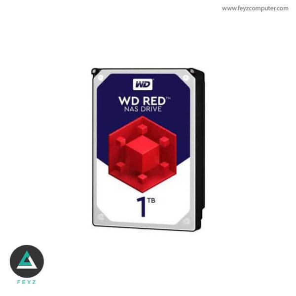 هارددیسک اینترنال وسترن دیجیتال مدل Red WD10EFRX ظرفیت 1 ترابایت