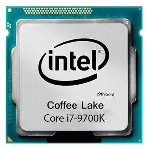 پردازنده اینتل Core i7 9700k بدون فن
