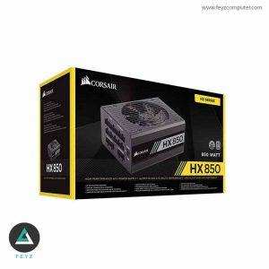 منبع تغدیه 850 وات کورسیر HX850 Platinum Full Modular