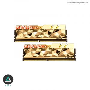 رم جی اسکیل TRIDENT Z ROYAL ELITE 64GB 4266MHZ CL19 GOLD